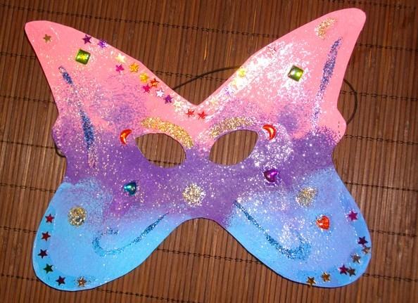 Bricolage carnaval - Masque papillon carnaval ...