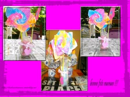 bouquet fete des meres 2012